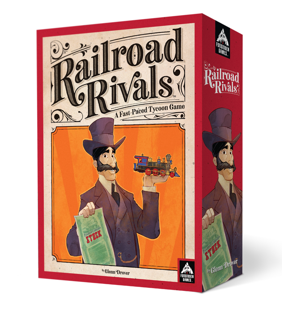 Railroad Rivals Box