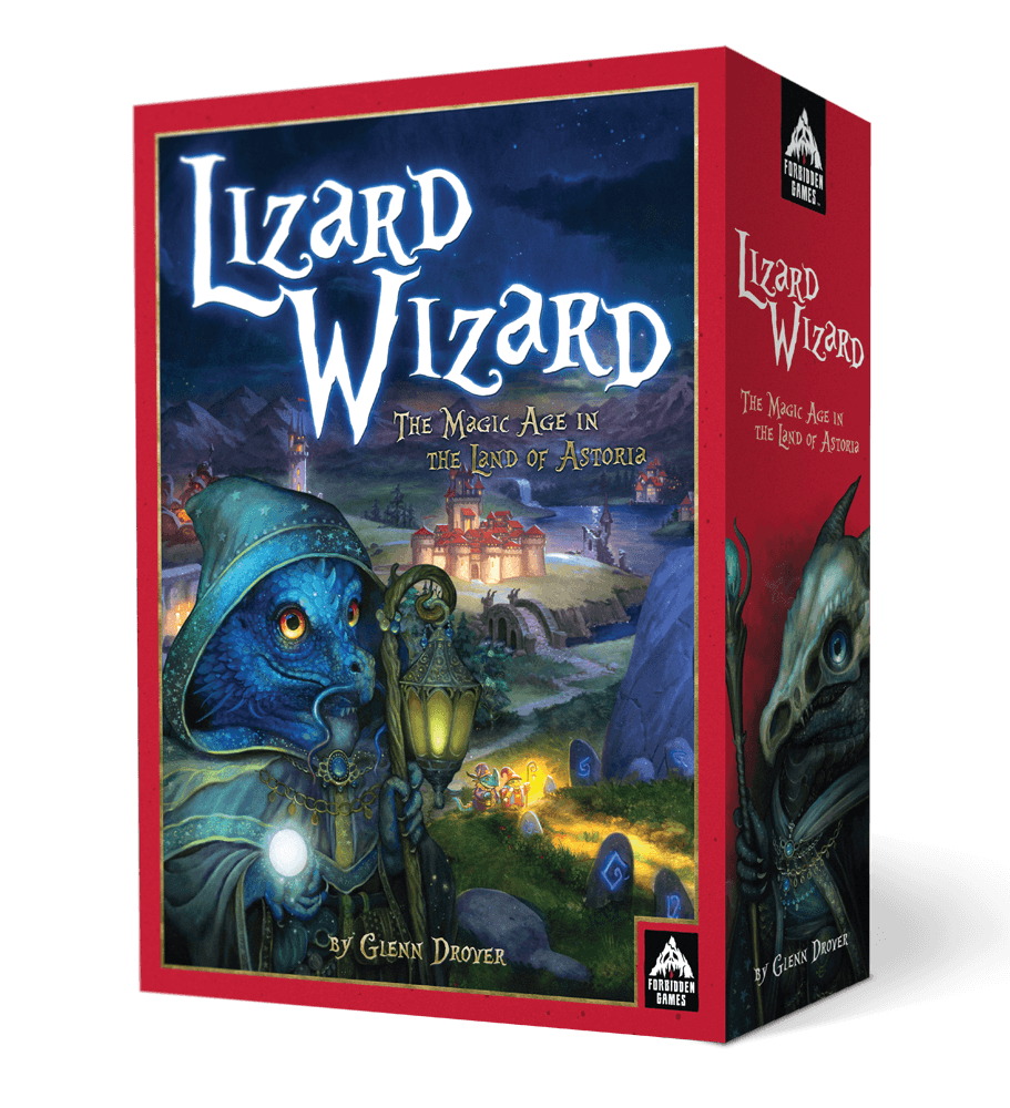 Lizard Wizard Box
